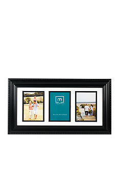 Melannco 3-opening Black Collage Frame