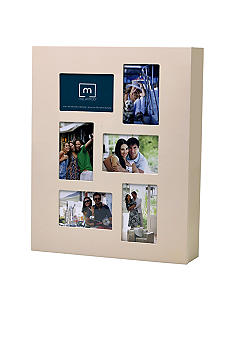 Melannco Cream 4x6 Photo Jewelry Cabinet