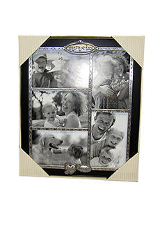 Fetco Home Decor Memories 5-Opening 4x6 Collage Frame
