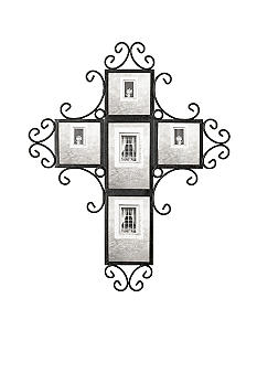 Fetco Home Decor Fetco Home Decor 5-Opening Cross Collage Frame