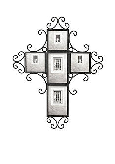 Fetco Home Decor 5-Opening Cross Collage Frame