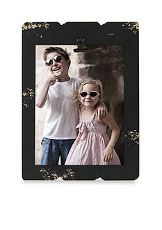 Fetco Home Decor Ebony Slats 5x7 Clip Frame