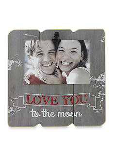 Fetco Home Decor Love You to the Moon 4x6 Clip Frame