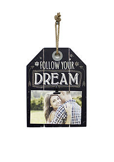 Fetco Home Decor Follow Your Dream 4x6 Frame