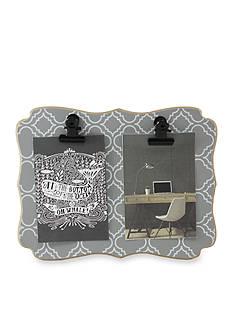 Fetco Home Decor Mini Clip Frame Quatrefoil Double
