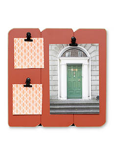Fetco Home Decor Slats Clip Collage Spiced Pumpkin