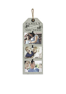 Fetco Home Decor Triple Clip Family is All the Love you Need Frame