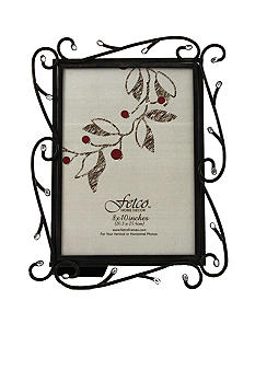 Fetco Home Decor Winter Gervais with Stones 8x10 Frame