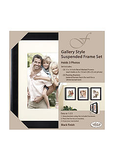 Fetco Home Decor Gallery Style Suspended 8x10 Frame Set