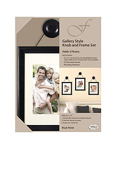 Fetco Home Decor Felda Gallery Style Knob and Frame Set