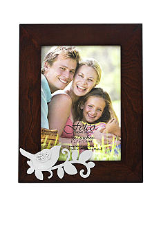Fetco Home Decor Masfield Botanical Study 5 x 7 Dove Photo Frame