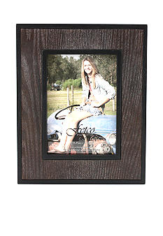 Fetco Home Decor Hetland, Salt & Pepper Inlay 5x7 Frame