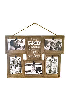 fetco home decor wall shadowbox clip collage family. Black Bedroom Furniture Sets. Home Design Ideas