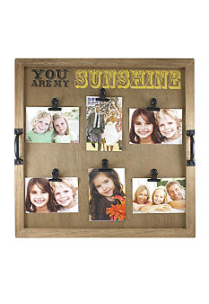 Fetco Home Decor Alain You Are My Sunshine Clip Collage Belk