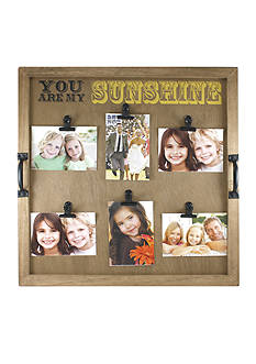 Fetco Home Decor Alain You Are My Sunshine Clip Collage