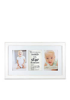 Fetco Home Decor Twinkle Twinkle Little Star Double 5x7 Frame