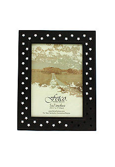 Fetco Home Decor Farmhouse Pierced Star 5x7 Frame