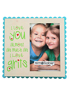 Fetco Home Decor I Love You Grits 4x6 Frame