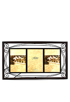 Fetco Home Decor Collington Tuscan Double-Scroll Metal 5x7 ...