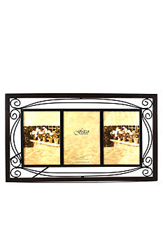Fetco Home Decor Collington Tuscan Double-Scroll Metal 5x7 Frame