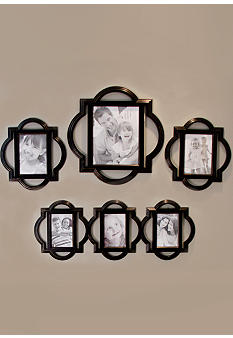 Fetco Home Decor Suzanne Quatrefoil 4 Piece Set