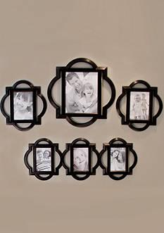 Fetco Home Decor Suzanne Quatrefoil 4 Piece Set