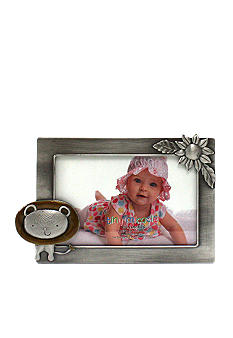 Fetco Home Decor Lion Pewter 6x4 Frame