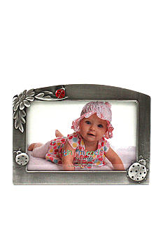 Fetco Home Decor Lady Bug Pewter 6x4 Frame