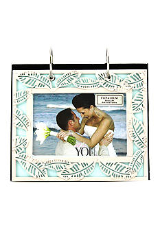 Fetco Home Decor Openwork Leaves 6x4 Flip Album