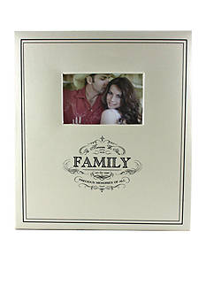 Fetco Home Decor Family 5-Up 4x6 Photo Album