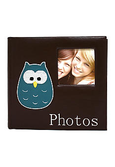 Fetco Home Decor Wigston Owl 2-up 4x6 Photo Album