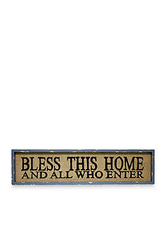 Fetco Home Decor Bless this Home Plaque