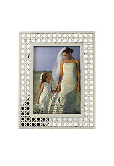 Fetco Home Decor Off White Ratan 5x7 Frame