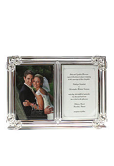 Fetco Home Decor Double Heart Corners 5x7 Double Frame