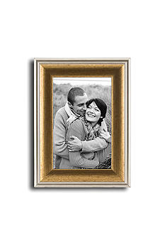 Malden Gold and Silver 4x6 Frame