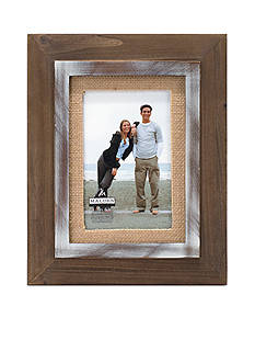 Malden Two-Tone Wood Distressed 4x6 Frame