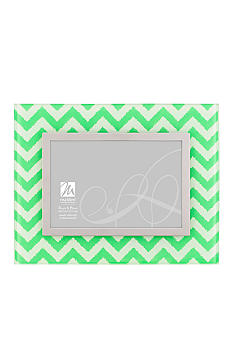 Malden Chevron Green 4x6 Frame