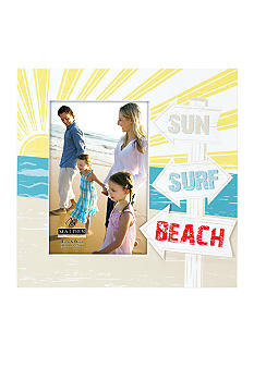 Malden Sun Surf Beach 4x6 Frame
