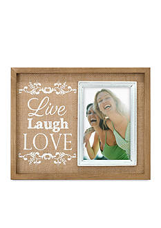 Malden Live Laugh Love 4x6 Frame
