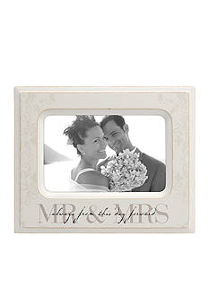 Malden International Designs Mr. and Mrs. 4 x 6 Frame