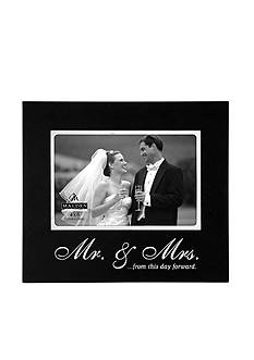 Malden Mr. & Mrs. 4x6 Frame
