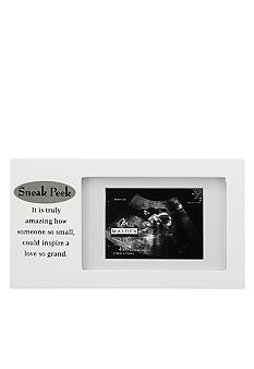 Malden Sneak Peak Sonogram 4x6 Frame