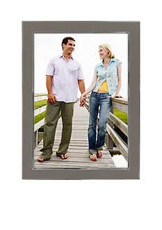 Malden Silver Enamel 5x7 Frame