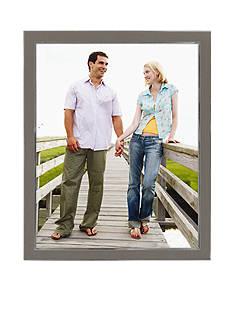 Malden Silver Enamel 8-in. x 10-in. Frame