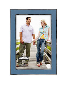 Malden Blue Enamel 4-in. x 6-in. Frame