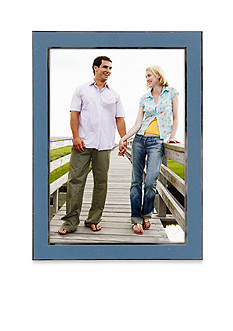 Malden Blue Enamel 5x7 Frame
