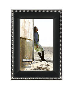 Malden Black and Silver Bead 4x6 Frame