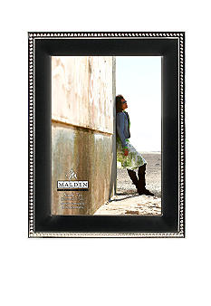 Malden Black and Silver Bead 5x7 Frame