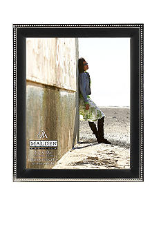 Malden Black and Silver Bead 8x10 Frame