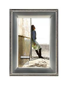 Malden Silver Metal Bead 4x6 Frame